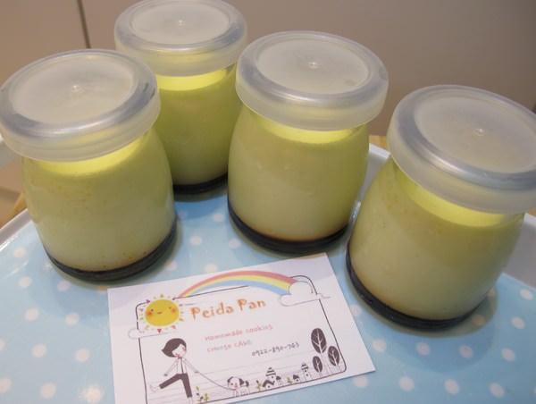 【Peida Pan 烘焙坊】台南新甜品~ 香濃牛奶香草布丁