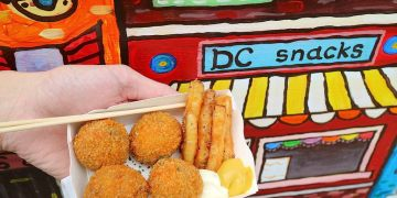 (台南。中西區美食)『DC snacks 荷蘭異國美食』:全台唯一荷蘭美食@台南正興街 周末限定的異國美味 手工豬肉/牛肉丸,熱燙涮嘴的絕妙享受 