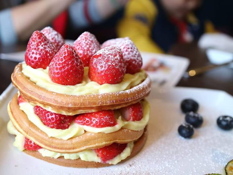Brick磚塊:全天候早午餐&鹹鬆餅開賣囉!快到台南百年紅磚老屋來個午餐/午茶約會吧!