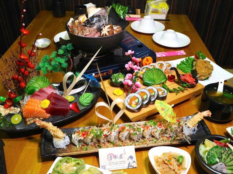 虎尾宮本屋:雲林虎尾的超人氣美味日式料理餐廳,炸蝦壽司超浮誇/日式便當平價美味又飽足|雲林.虎尾聚餐餐廳推薦/近虎尾科技大學
