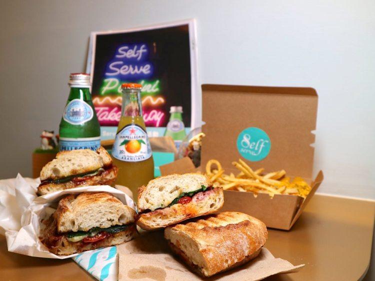 Self Serve:台南中西區特色店家.專售帕尼尼Panini三明治,讓你品嚐正統義式的好味道