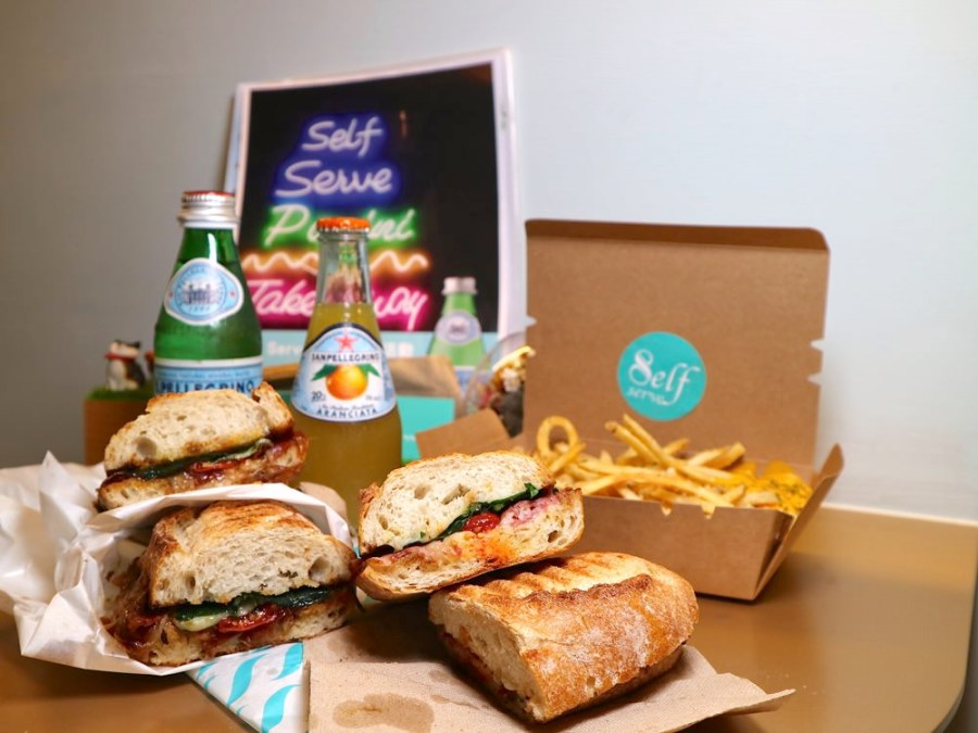 Self Serve:正統帕尼尼Panini三明治專賣店,讓你品嚐正統義式的好味道 台南中西區特色店家.ubereats外送