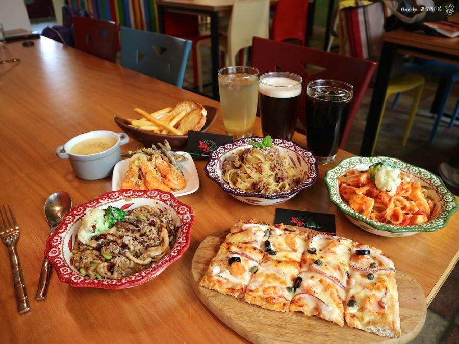 義起、Eating 義式麵店:隱身於台南東區巷弄內的老宅義式餐廳|健康天然美味義大利麵,給你安心又享受的用餐食光|台南東區聚餐餐廳推薦