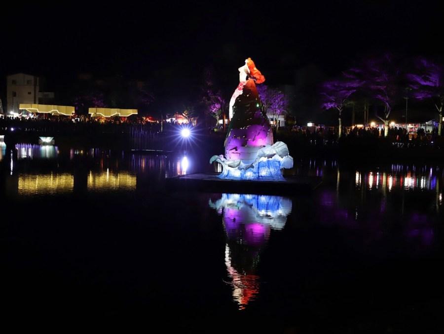 2020月津港燈節 yuejin lantern festival:台南每年必玩必去必逛景點/浪漫鹽水小鎮/橋南老街/連成巷/月光之城-月之美術館/(至2020.02.16)