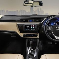 Brand New Toyota Altis Price Grand Avanza Veloz 2019 Corolla Images Check Interior Exterior Pics Gaadi Engine Start Stop Button Dashboard View