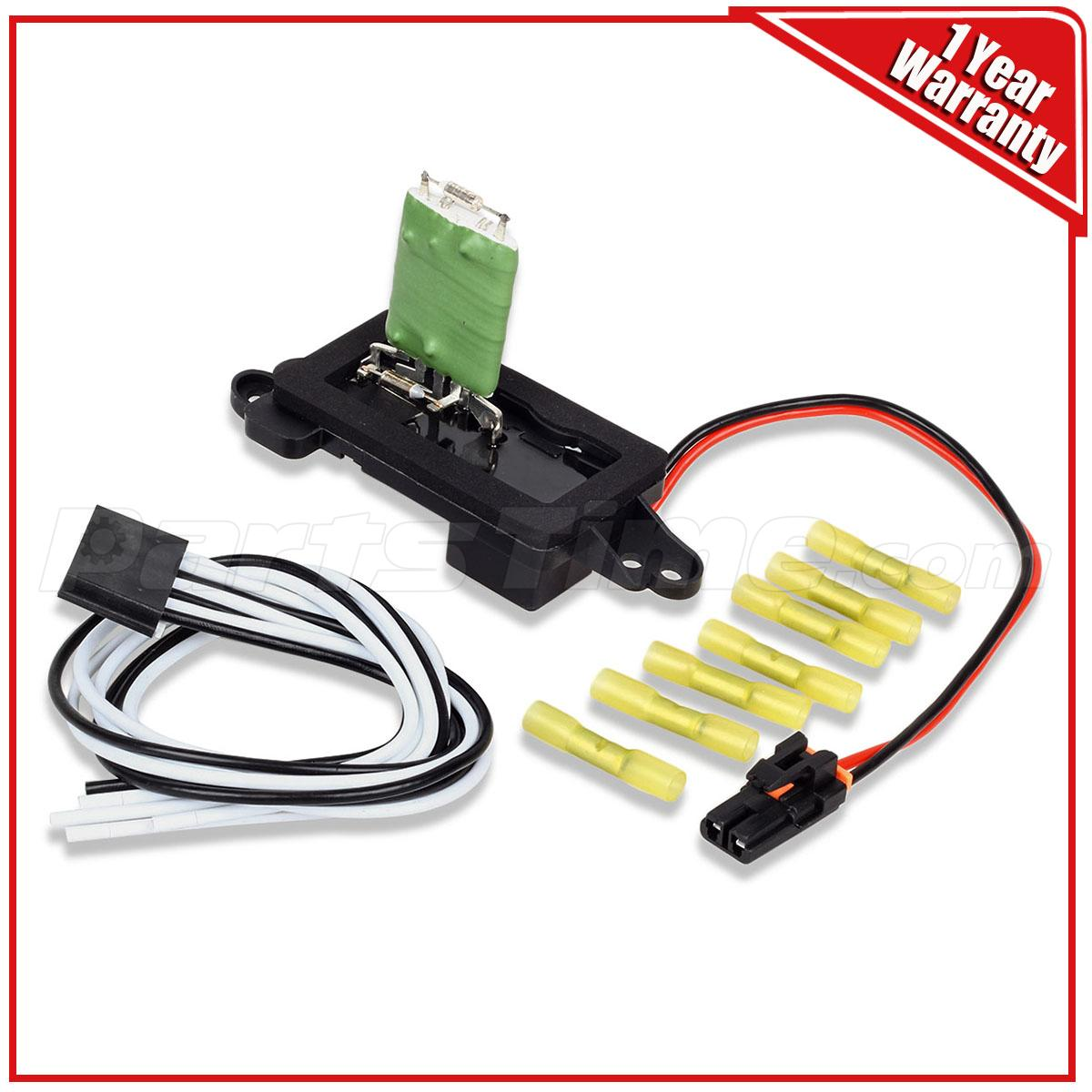 medium resolution of image is loading hvac blower motor resistor w wire harness