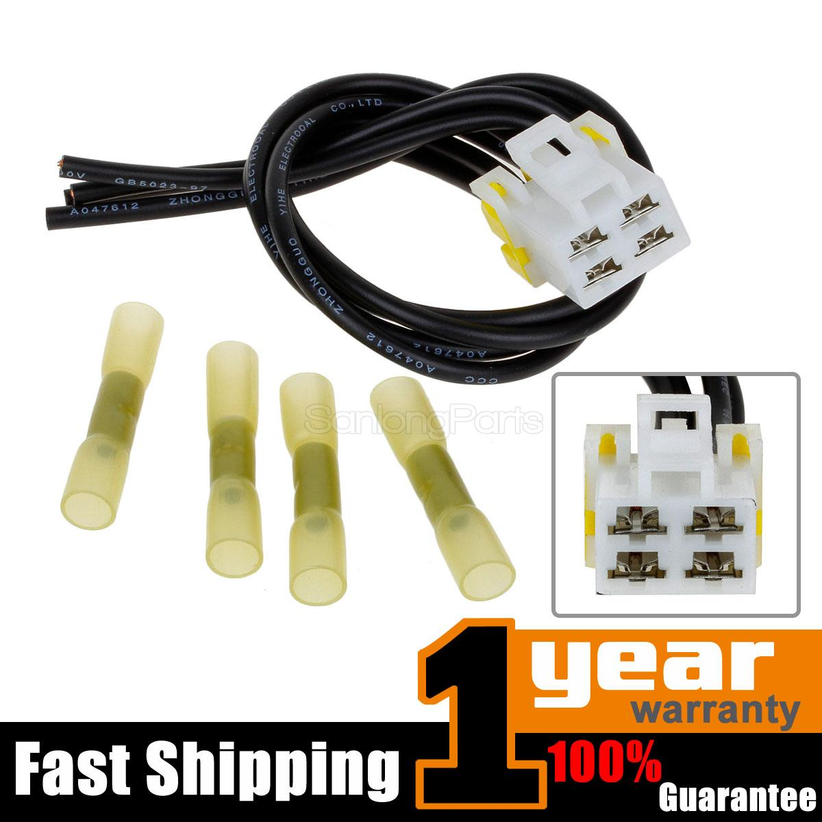 hight resolution of 4 wire pigtail blower motor resistor connector for ford escape excursion f 150
