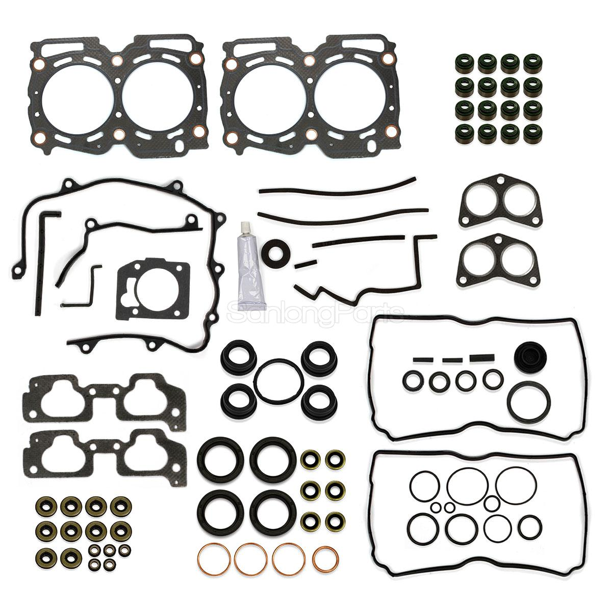 Full Head Gasket Set For Subaru Forester Legacy 99 00 2 5l