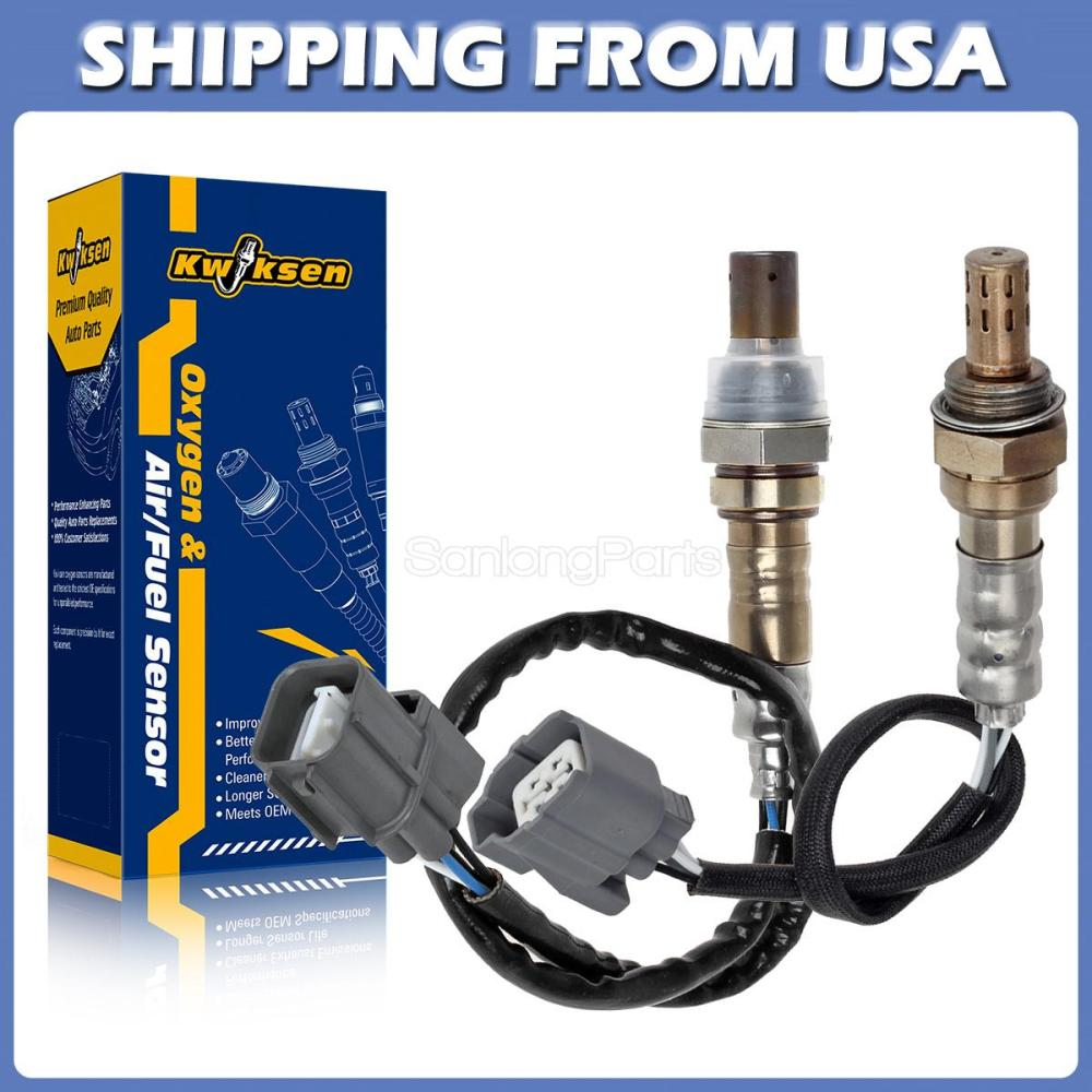 medium resolution of 2x air fuel ratio oxygen sensor up downstream for 02 03 04 acura rsx type s 2 0l