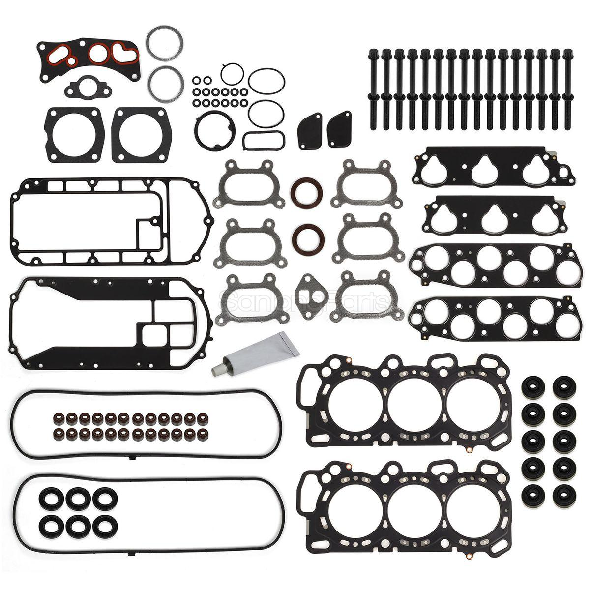 For Acura MDX TL For Honda 05-09 Head Gasket Bolts Set 3.2