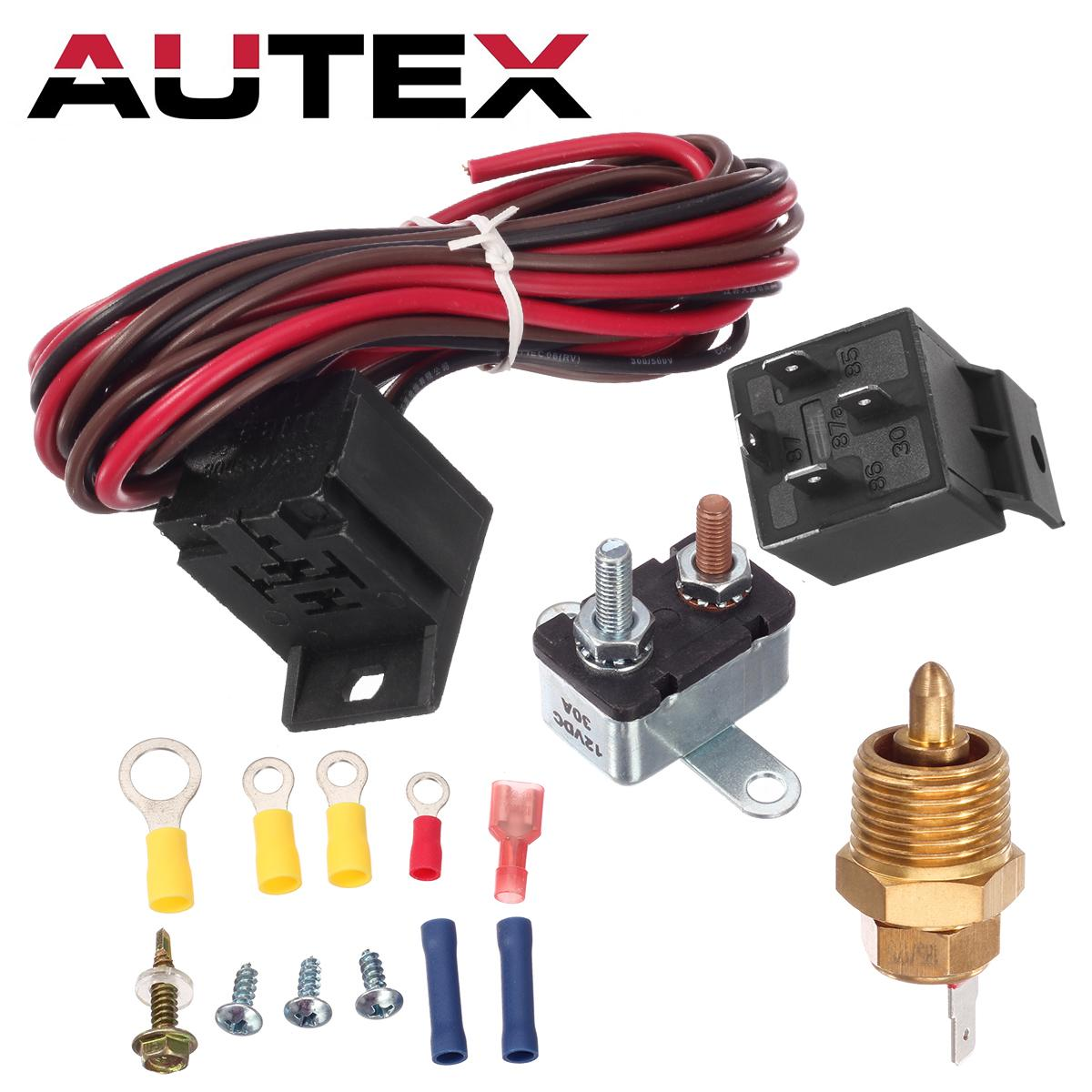 hight resolution of 185 to 175 degree electric fan relay wiring 1930 32 34 47 48 for ford chevy