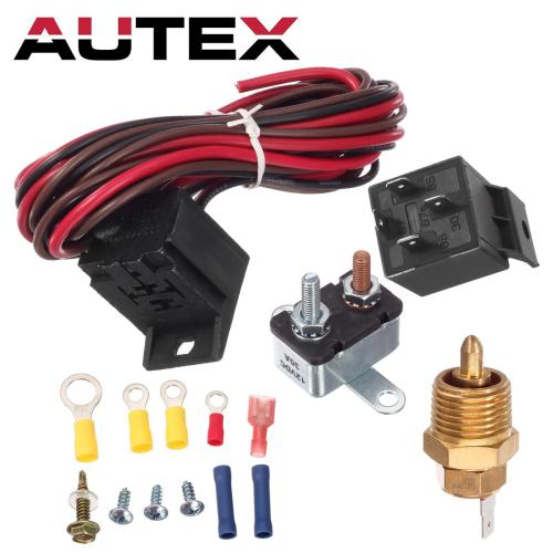 small resolution of 185 to 175 degree electric fan relay wiring 1930 32 34 47 48 for ford chevy