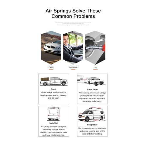 small resolution of new rear air suspension air spring bag for buick chevy gmc isuzu olds saab