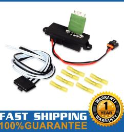 hvac blower motor resistor wire harness for 02 06 cadillac escalade 15305077 [ 1200 x 1200 Pixel ]