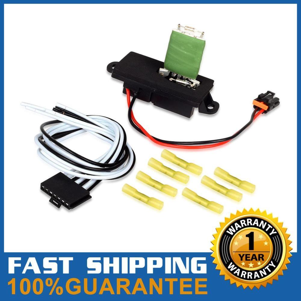 medium resolution of hvac blower motor resistor wire harness for 02 06 cadillac escalade 15305077