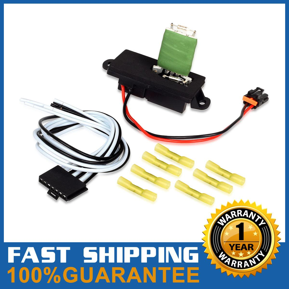 hight resolution of hvac blower motor resistor wire harness for 02 06 cadillac escalade 15305077
