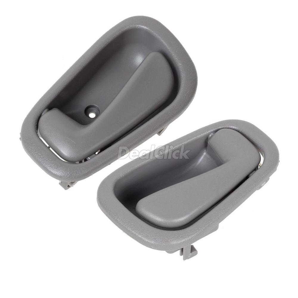 medium resolution of details about pair for 1998 2002 chevrolet prizm gray interior left and right door handle
