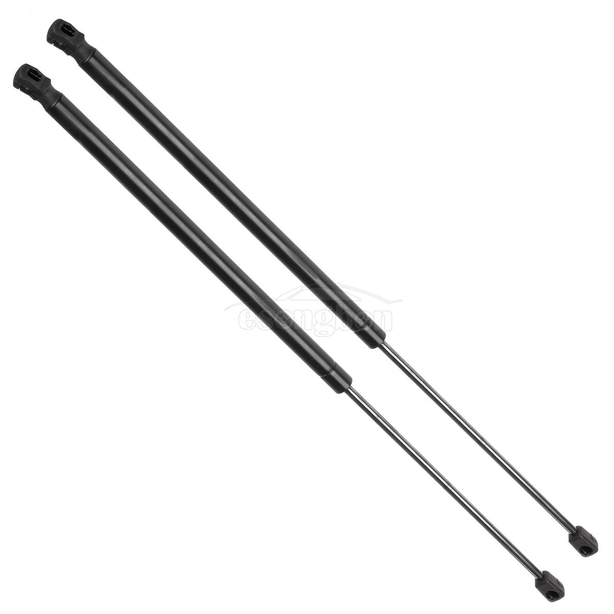2 Rear Hatch Gas Charged Lift Support Replacement Set For