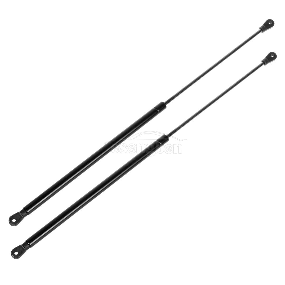 (2) 13948 Front Hood Gas Charged Lift Support Struts Rods