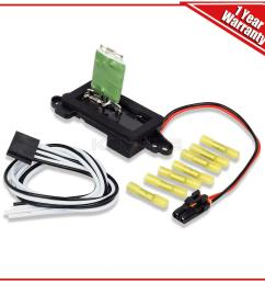 image is loading hvac blower motor resistor w wire harness for  [ 1200 x 1200 Pixel ]