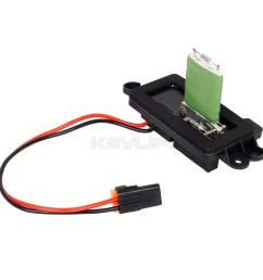 hvac blower motor resistor w wire harness for  [ 1200 x 1200 Pixel ]