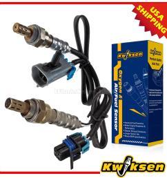 details about 2pcs oxygen o2 sensor 1 2 upstream downstream for 04 05 gmc envoy xl xuv canyon [ 1200 x 1200 Pixel ]