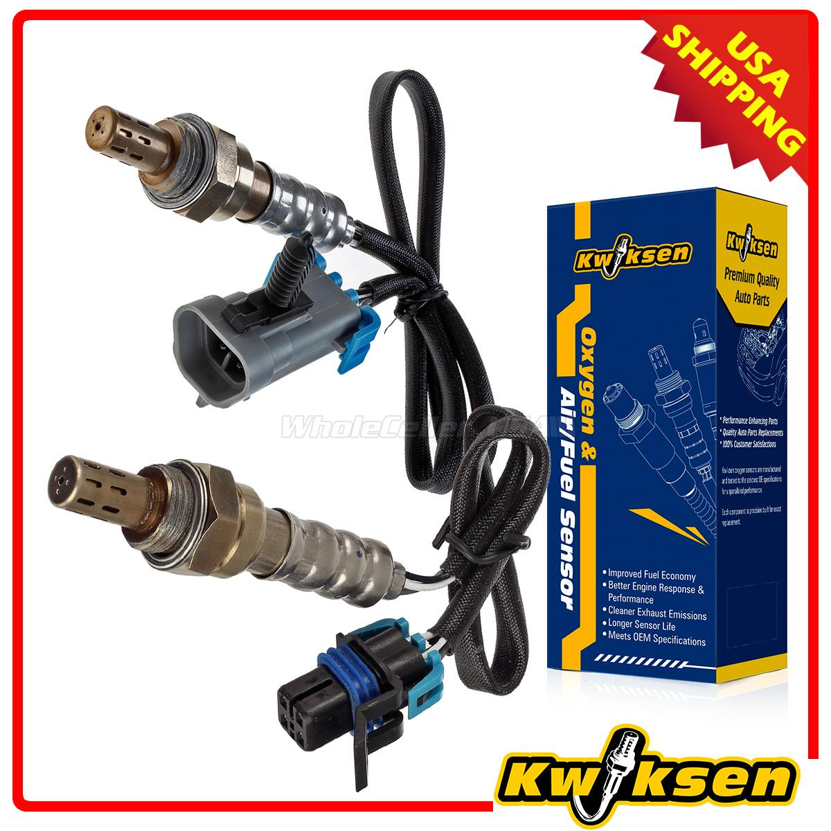 hight resolution of details about 2pcs oxygen o2 sensor 1 2 upstream downstream for 04 05 gmc envoy xl xuv canyon