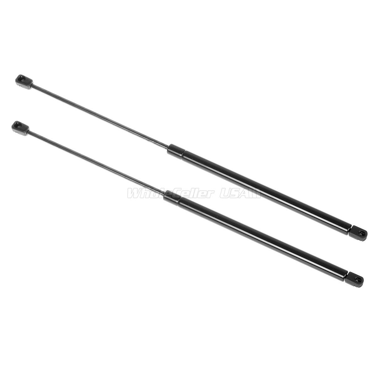 Qty (2) Front Hood Gas Charged Lift Support Struts For