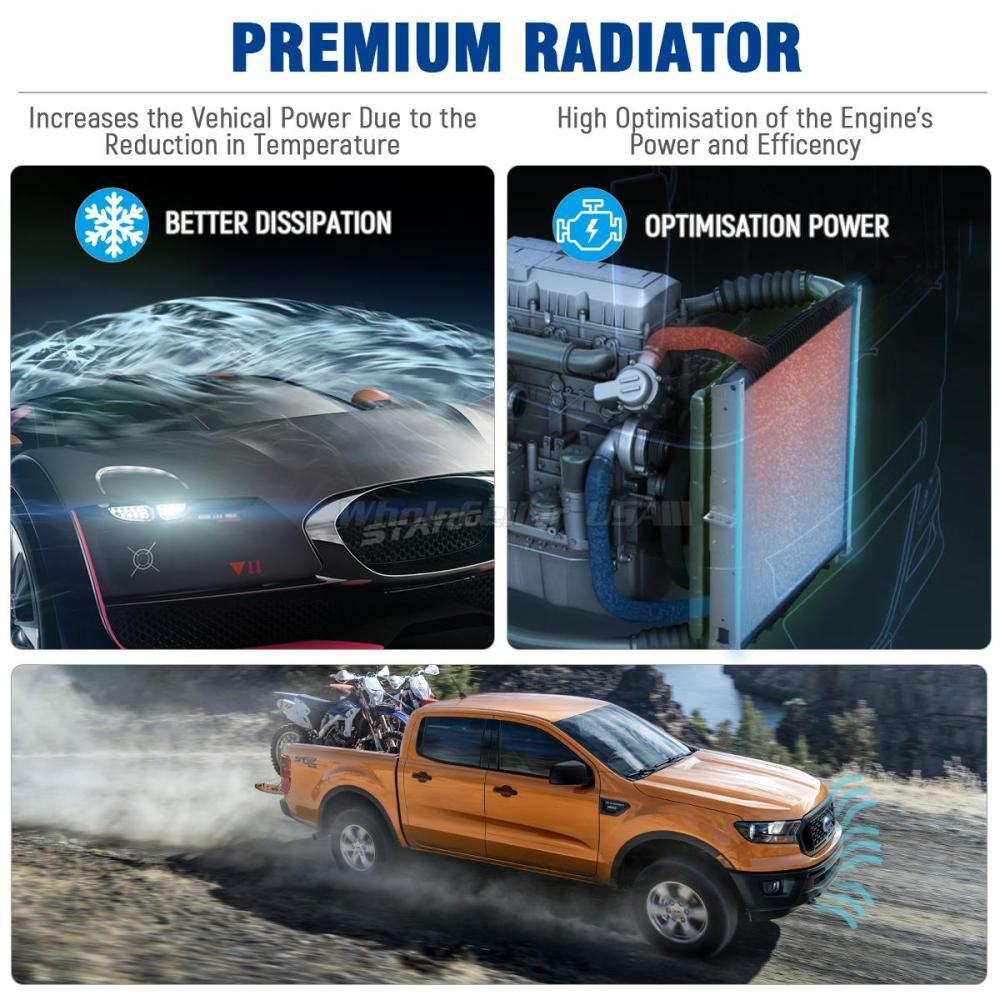 medium resolution of stayco aluminum 2101 radiator for 1987 2006 jeep