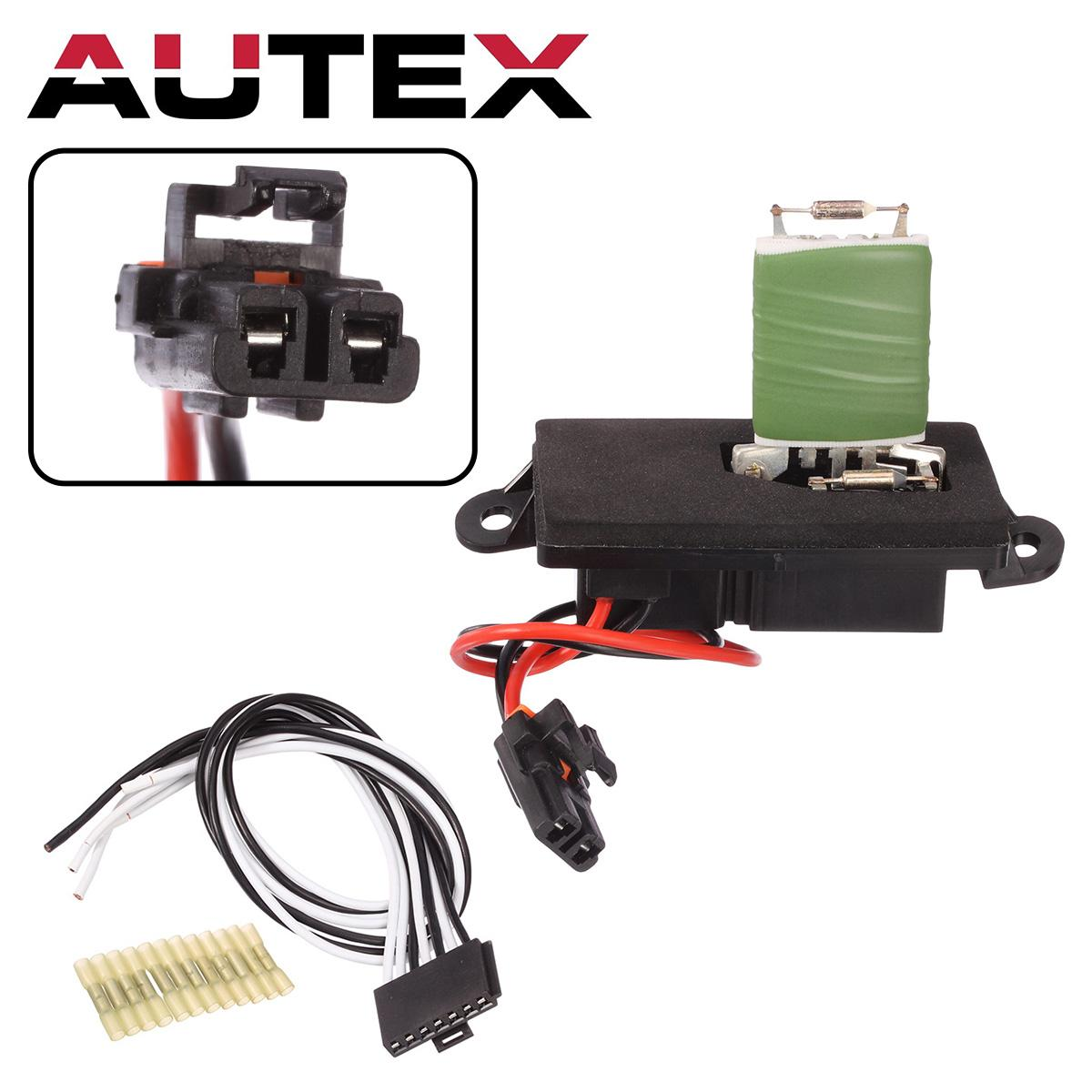 hight resolution of details about ac blower motor resistor wiring harness for 2002 2006 chevy avalanche 89019089