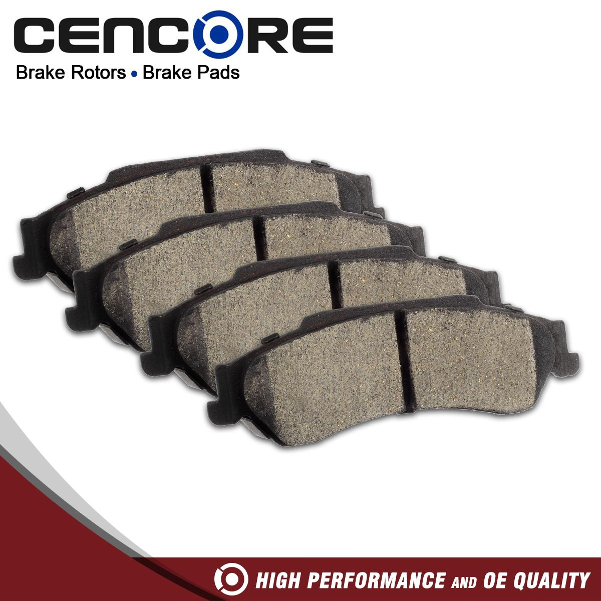 hight resolution of details about 4pcs rear ceramic brake pads for chevy s10 blazer pickup fits gmc envoy