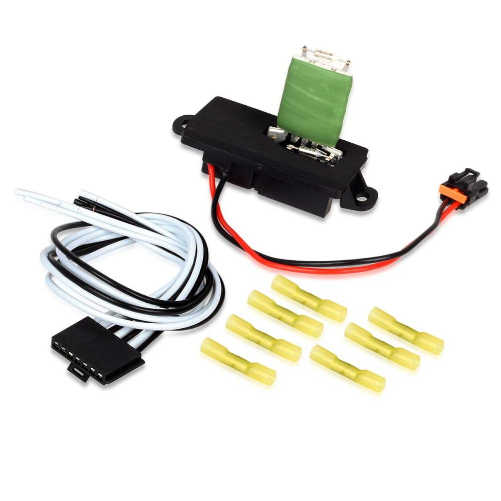 medium resolution of details about hvac blower motor resistor w wire harness for 00 06 gmc yukon xl 1500 2500 new