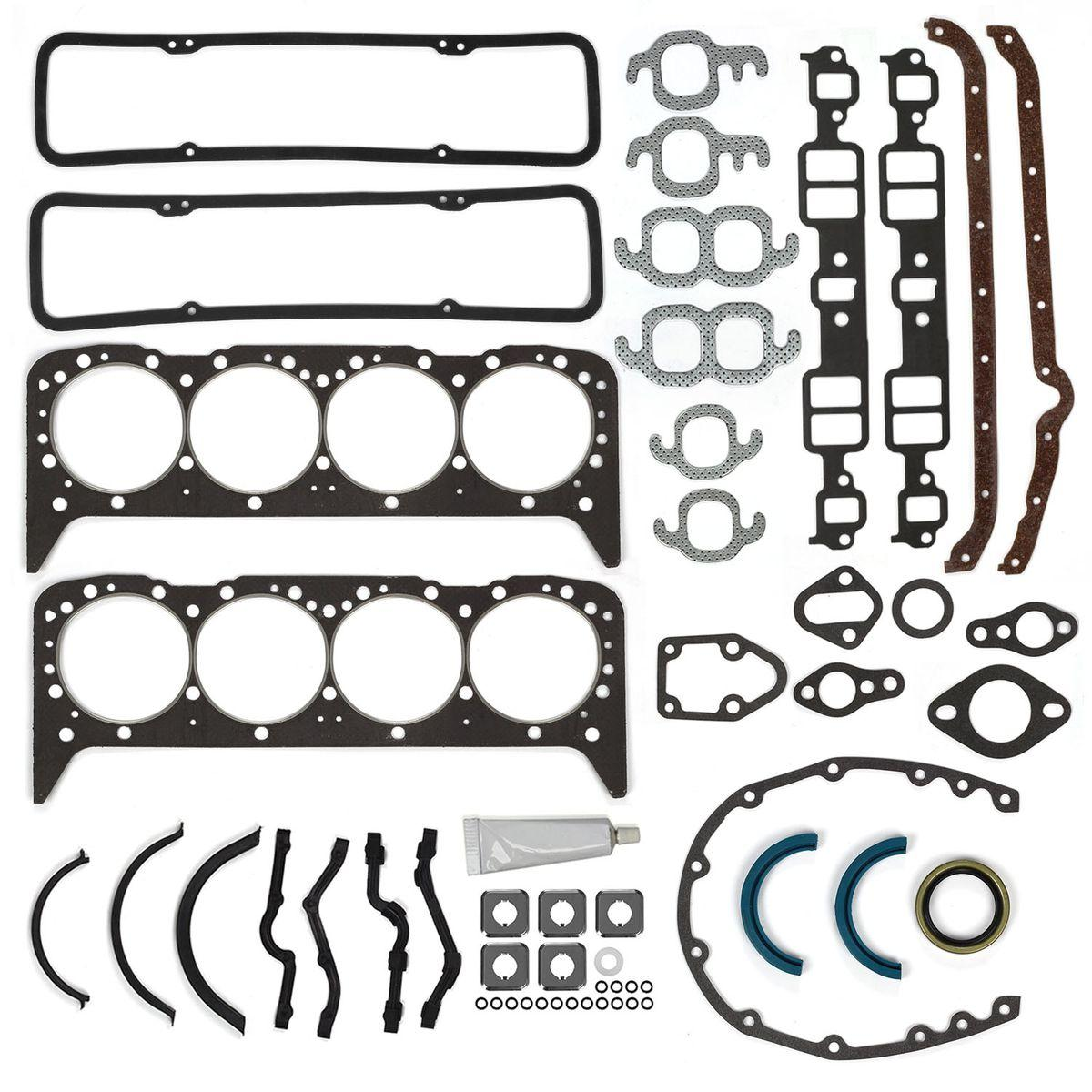 Engine Overhaul Gasket Set Fits 55 79 Small Block Chevy