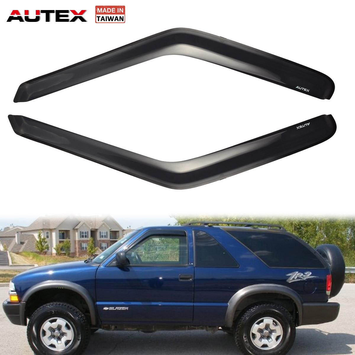 hight resolution of details about 2x original acrylic front window visors for 95 05 chevy blazer chevy s10 pickup