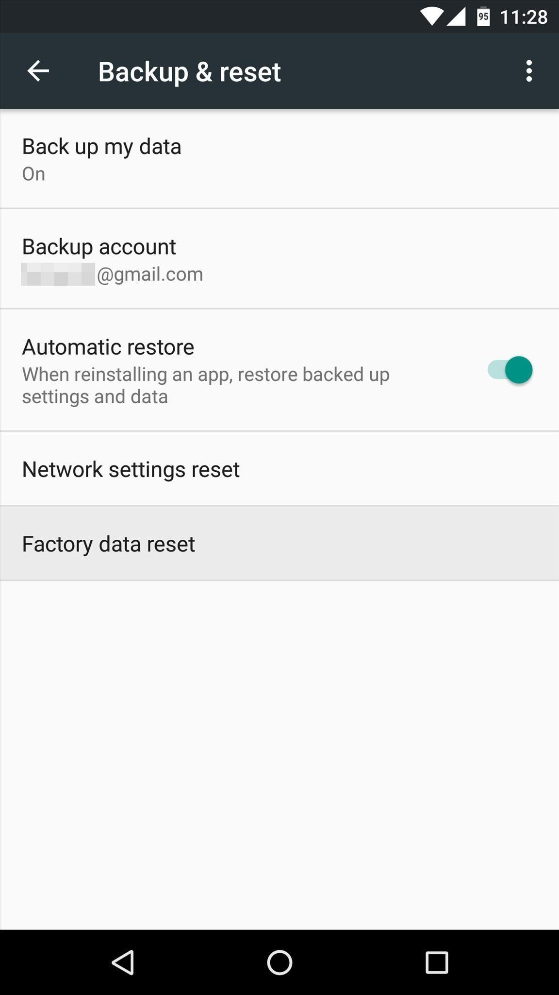 How to Factory Reset Your Android the Right Way « Android