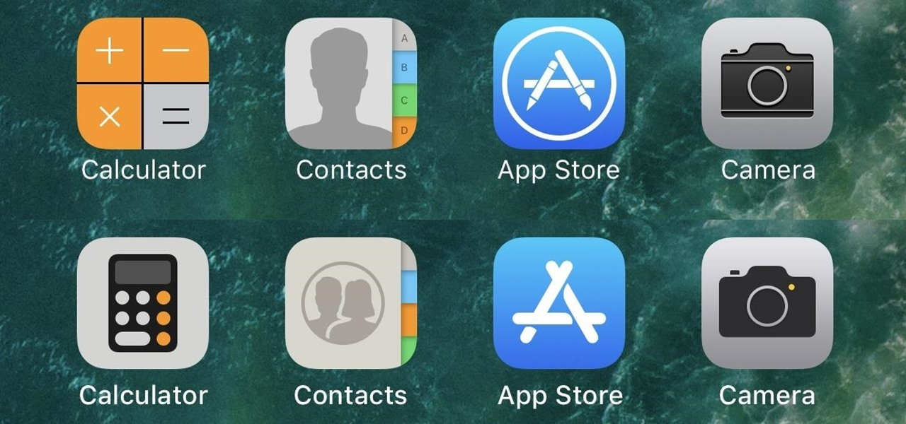 every app icon change