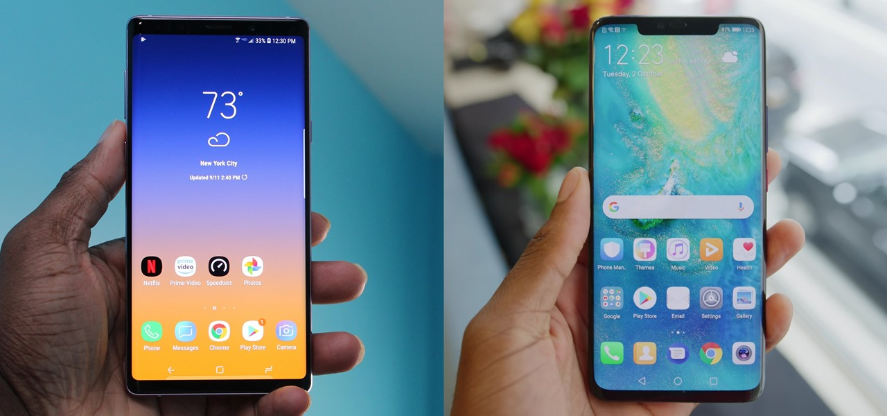 Mate 20 Pro vs. Galaxy Note 9: Comparing the Best Phones from the Top 2 Manufacturers « Android :: Gadget Hacks
