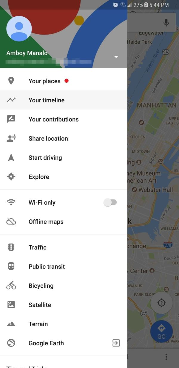 Google Maps 101 View & Manage Location History Iphone Android Smartphones