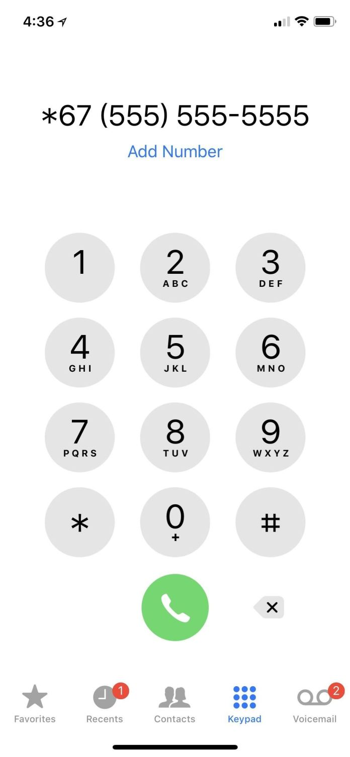 How To Make Anonymous Calls From Your Iphone Ios Iphone Gadget Hacks