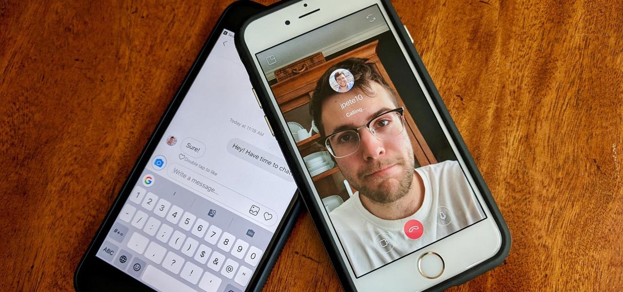 Insta :  Comment chat vidéo ou audio dans les messages directs Instagram pour des appels rapides avec un ou plusieurs utilisateurs «Smartphones :: Gadget Hacks