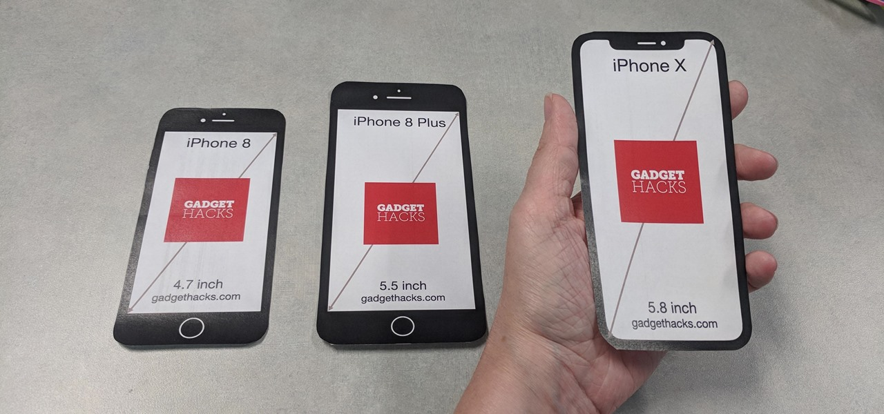 cutouts to see which iphone size