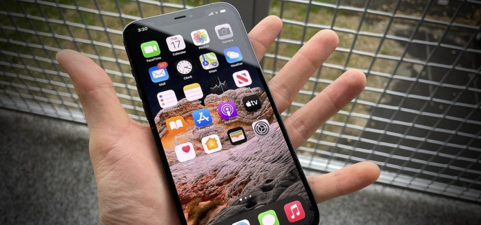 How To Make Your Iphone 12 Pro Max Feel Less Huge When Using It With One Hand Ios Iphone Gadget Hacks