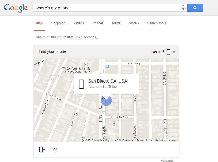 Use Google Search to Locate Your Android Phone or Tablet