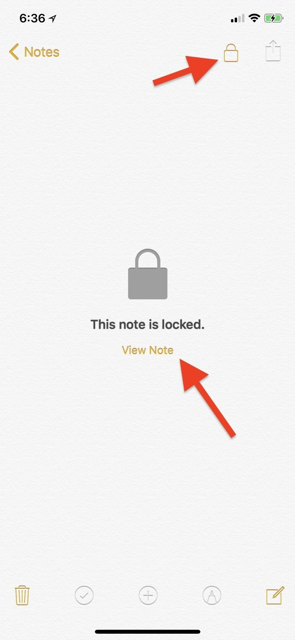 How to Prevent Notes on Your iPhone from Being Accessed by