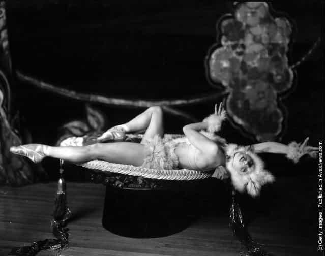 Natacha Nattova, the famous Russian dancer