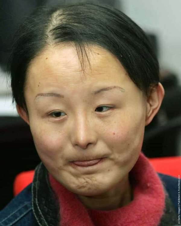 Ugly Chinese Girl