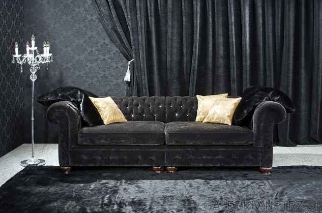 chesterfield sofa black velvet ikea kivik funda by livingroom :: galerkiwnetrz.pl