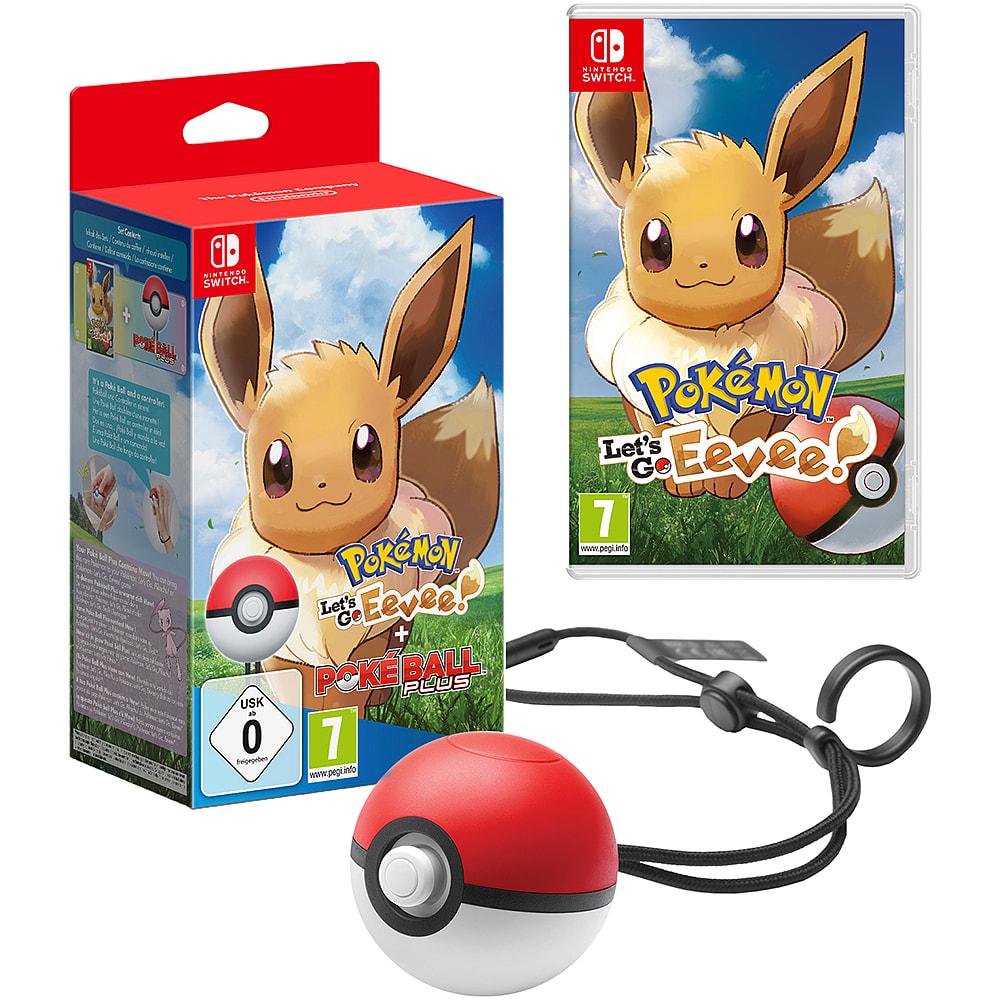 Buy Pokémon: Let's Go! Eevee + Pokéball Plus on Switch   GAME