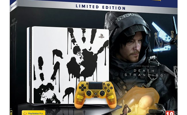 Buy Limited Edition Death Stranding Ps4 Pro Bundle Game