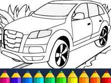 Jeu de coloriage de voitures